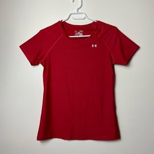 Under Armour Fitted Red Shirt